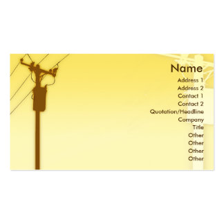 Sunset - Business Pack Of Standard Business Cards