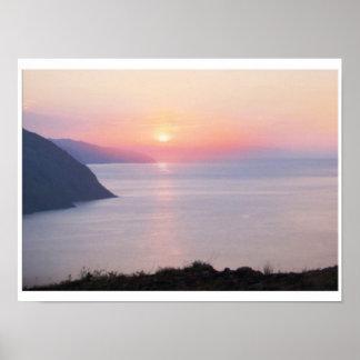 SUNSET BY SILVER LAKE PRINT