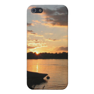 Sunset by the lake iPhone 5/5S cases