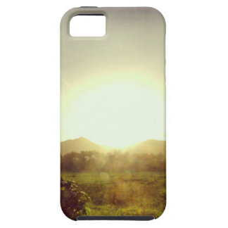 Sunset by the Mountains iPhone 5 Cover