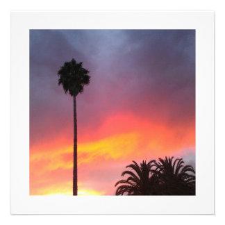 Sunset California Invites