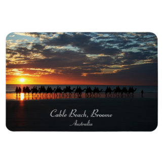 Sunset Camel Ride, Broome, Western Australia Magnet