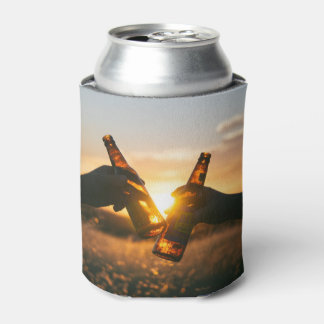 Sunset can can cooler