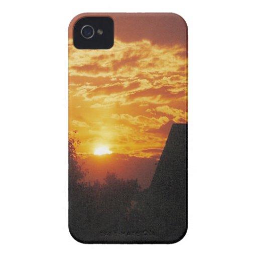 sunset blackberry bold cover