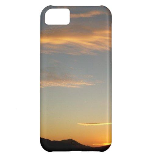 sunset iPhone 5C cases