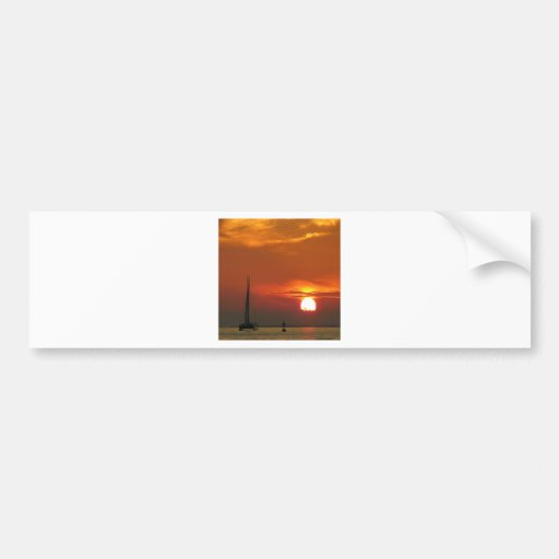 Sunset Celebration Bumper Sticker