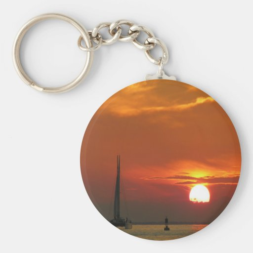 Sunset Celebration Key Chains
