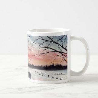 Sunset Cemetery Mug