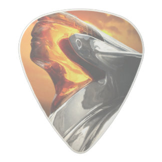 Sunset Chief Pontiac Chieftain Classic Car Acetal Guitar Pick