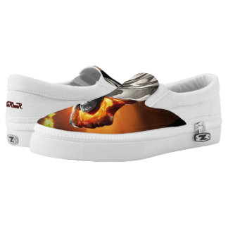 Sunset Chief Pontiac Chieftain Classic Car Slip On Shoes