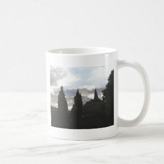 Sunset Church Coffee Mug