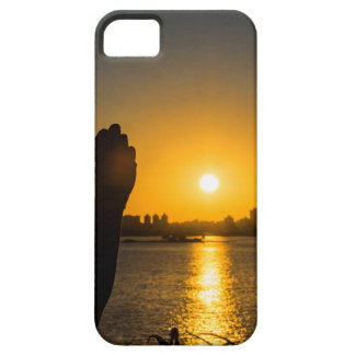Sunset Cityscape Scene, Montevideo, Uruguay Barely There iPhone 5 Case