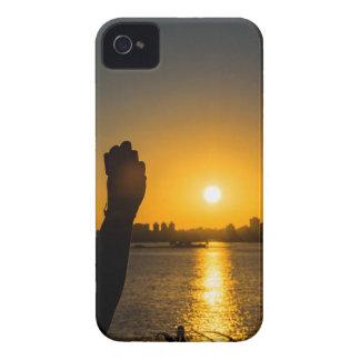 Sunset Cityscape Scene, Montevideo, Uruguay Case-Mate iPhone 4 Cases