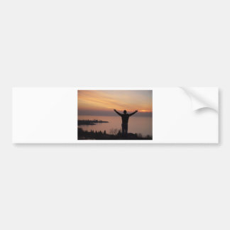 Sunset Cliff Bumper Sticker