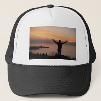 Sunset Cliff Trucker Hat