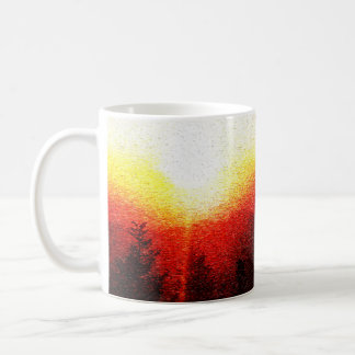 Sunset Clingman's Dome Smokey Mountains Coffee Mug