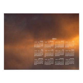 Sunset Clouds; 2013 Calendar Photo
