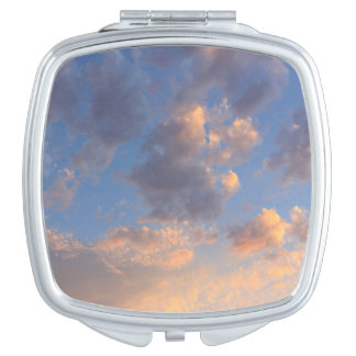 Sunset Clouds Compact Mirror