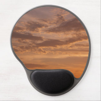 Sunset Clouds IV Pastel Abstract Nature Photograph Gel Mouse Pad