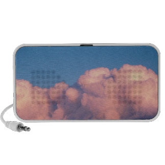 Sunset clouds iPhone speakers