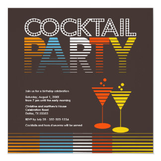 Sunset Cocktail Party Invitation {TBA}