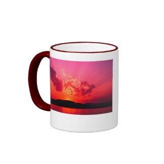 Sunset Coffee Collection Ringer Mug