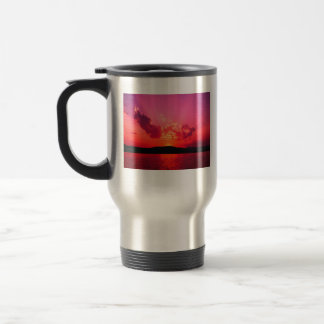 Sunset Coffee Collection Stainless Steel Travel Mug