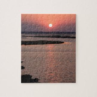 Sunset Color Puzzle