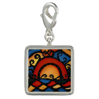 Sunset Colorful Art Summer Charm
