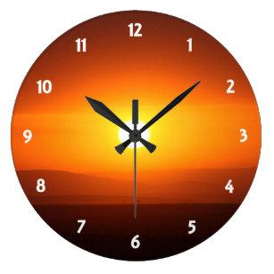 Colourful Wall Clocks Zazzle Com Au