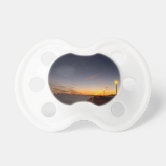 Sunset Cool Midnight City Bay Pacifiers