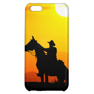Sunset cowboy-Cowboy-sunshine-western-country Case For iPhone 5C