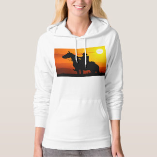 Sunset cowboy-Cowboy-sunshine-western-country Hoodie
