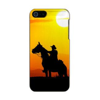 Sunset cowboy-Cowboy-sunshine-western-country Incipio Feather® Shine iPhone 5 Case