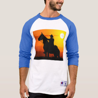 Sunset cowboy-Cowboy-sunshine-western-country T-Shirt
