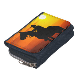 Sunset cowboy-Cowboy-sunshine-western-country Wallet