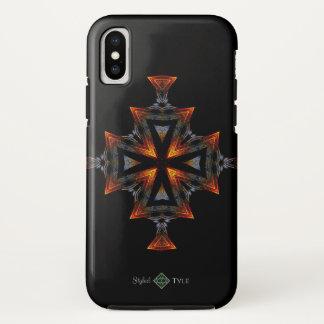 Sunset Cross iPhone X Case