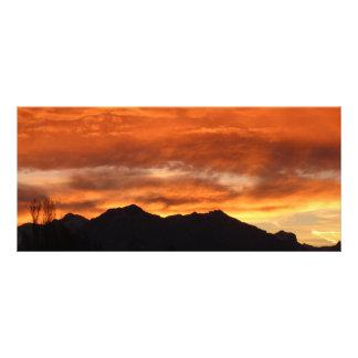 Sunset Custom Rack Cards