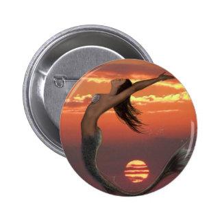 sunset dance 6 cm round badge
