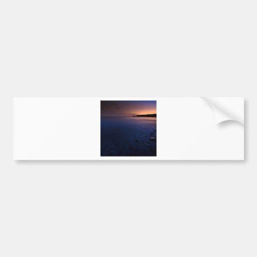 Sunset Dark Bay Bumper Sticker