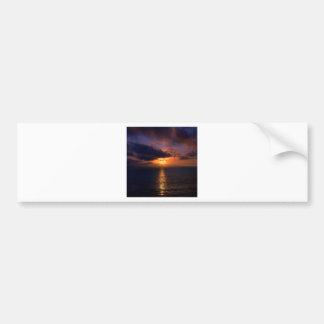 Sunset Dark Water Bumper Sticker