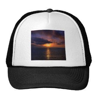 Sunset Dark Water Hats