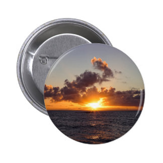 Sunset Design 6 Cm Round Badge