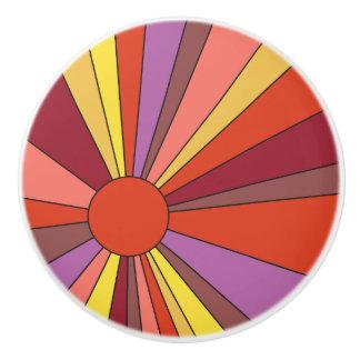 Sunset Design - Shades of Orange - Drawer Knob