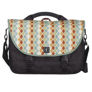 Sunset Diamond Pattern Bags For Laptop