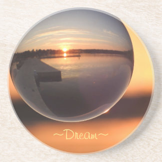 Sunset Dream Crystal Ball Coaster