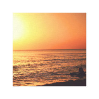 Sunset dreamer canvas prints