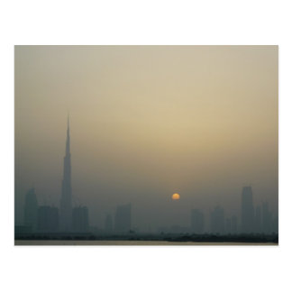 Sunset, Dubai Postcard