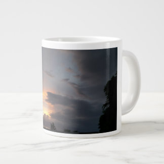Sunset during Monsoon Season Giant Coffee Mug