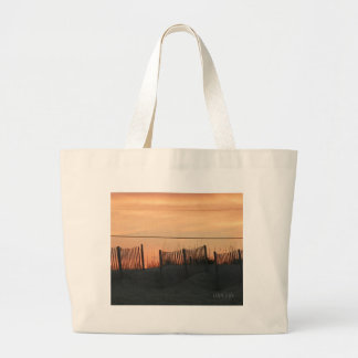 Sunset Fence Gifts Jumbo Tote Bag